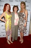 Phoebe Price with Flora Price and Anita Seelig at the launch of Phoebe's Phantasy by Lotion Glow. Kaje Boutique, Beverly Hills, CA. 06-16-07