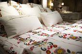Flower Patterned Bedding