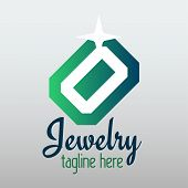 Vector Jewelry Design On Grey Background