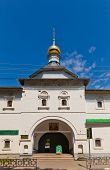 image of saint-nicolas  - Saint Gates of Saints Boris and Gleb monastery in Dmitrov Russia - JPG