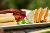 Assorted Chinese Appetisers Al Fresco