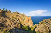 Crimea, Rocks, Sea, Cloud