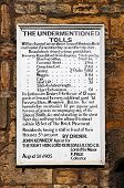 Old toll charges notice, Moreton-in-Marsh