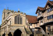 St James Chapel & Lord Leycester Hospital.