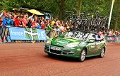 Team Europcar in the Tour de France