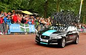 Team Sky in the Tour de France