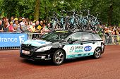 Omega Pharma team in the Tour de France