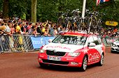 Cofidis team in the Tour de France