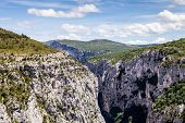 Canyon de Verdon the Verdon Gorge France Provence