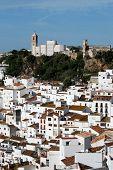 White town, Casares, Spain.