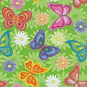 foto of naturalist  - Seamless pattern - JPG