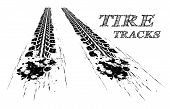 picture of dirt-bike  - Tire tracks - JPG