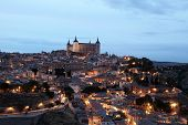Toledo At Night. Spain