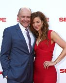 LOS ANGELES - JUL 10:  Rob Corddry, Sandra Corddry at the