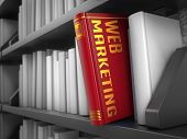 Web Marketing - Title of Book.