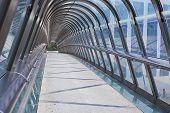 Kupka Bridge, La Defense, Paris, France