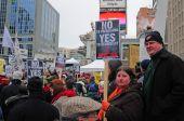 Anti-Vertagung rally Toronto 23 jan 2010
