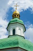 Church dome in Pecheskaya Ukraine