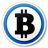 Vector Bitcoin Icon