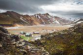 Landmannalaugar Camping, Iceland