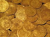 gold coins hoard