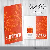 Greeting Card Design, Template