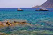 Rocky coast Kefalos