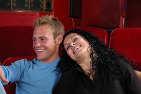 picture of matinee  - A couple at the movies - JPG