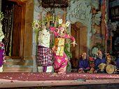 Dancer Is Performing An Indonesian Dance Potpurri