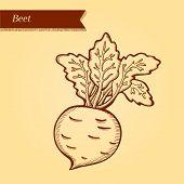 Retro beet
