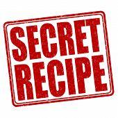 Secret Recipe Stamp