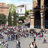 Colosseum Square, Rome