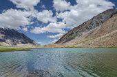 High Mountain Lake View