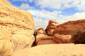 image of jabal  - Wadi Rum desert - JPG