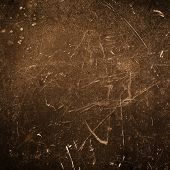 Grunge Abstract  Textured Background  With Spotlight And Scratches. Old Surface Backdrop  For Your D