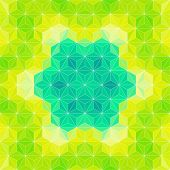 Vector Triangle Pattern. Colorful Background