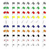 Motorcycle Racing Flags