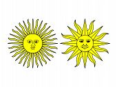 Sun Illustrations