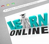 Learn Online - Web Screen