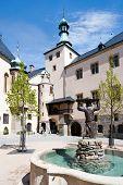 Italian court, Kutna Hora (UNESCO), Czech republic