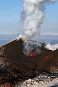 Nature Of Kamchatka: Eruption Volcano
