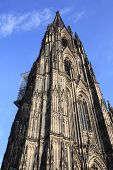 Facade Of The Dom Church In The City Cologne