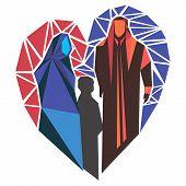 Arab Family Mosaic