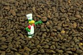 Cook And Coffee Beans