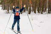 Unrecognizable Belarusian Secondary School Pupils Preparing For
