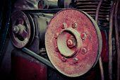 Old compressor parts