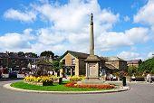 Bakewell war memorial.