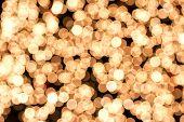 Gold Sparkling Background
