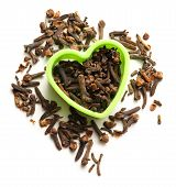 Cloves Seeds In Heart Form