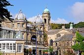 Buxton Opera House and Church.